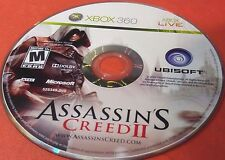 Assassin's Creed II (Microsoft Xbox 360, 2009)(DISC ONLY) #WALL