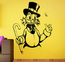 DuckTales Wall Decal Walt Disney Vinyl Sticker Uncle Scrooge Wall Art Decor 4dts