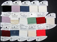16xNeedlepoint/Embroidery THREAD R GALLERY Grandeur&Subtlety silk pearls-ZB59