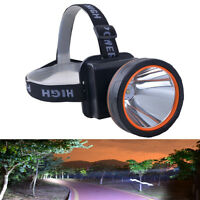 5000 Lumens LED Headlamp Rechargeable Headlight Hunting Camping Head Torch Lamp
