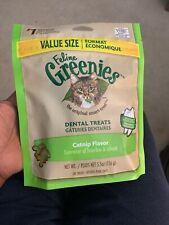 Feline Greenies Dental Treats 5.5 oz Catnip | Vet Recommended For Cats Exp 03/20