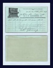 CALIFORNIA SAN JOSE PIANO MOVERS 1896 OBSERVATORY DEGREE STAFF CARRYALL MT VIEW
