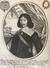 Claude de Mesmes Officier Ordre du Saint-Esprit Diplomate par MONTCORNET XVIIe