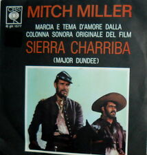 "OST SIERRA CHARRIBA  7"" MITCH MILLER AND THE GANG - ITALY 1965"