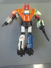 Transformers G1 Sixliner Reissue Micromaster Zone Victory Sixtrain VGC