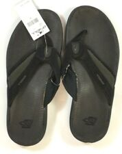 O'Neill SUMMIT Mens Water Friendly Foam Flip Flop Sandals 9 Black NEW
