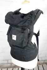 Ergo Baby Organic Baby Carrier - Black - Free shipping with original box
