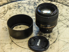 NIKKOR AF-S 35mm f/1.8G ED Lens; used/in pristine condition