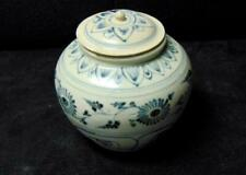 Hoi An Shipwreck Blue & White Jar with Cover 15th/16th Cet.
