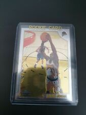 Topps Chrome 1998-99 Rookie RC Trading card Antawn Jamison #143 Basketball NBA