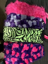 Raveware Leg Warmer Boot Covers Furry Sleeves Electric Rave