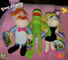 Starbucks The Muppets Kermit The Frog, Miss Piggy Finger Puppets & Swedish Chef