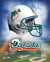 Helmet Miami Dolphins 8 X 10 Photo AAGL095 zzz