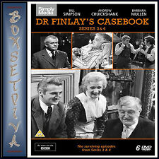 DR FINLAYS CASEBOOK - COMPLETE SERIES 3 & 4 ***BRAND NEW DVD***