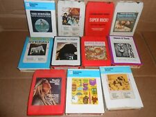 vintage 8-track tapes rock beatles spanky grass roots safaris