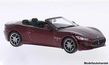 MASERATI GRAN CABRIO SPORT ROSSO SCURO 2013 Whitebox 1:43
