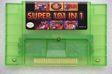 Super 101 in 1 Game Cartridge SNES Multicart 24 games Battery Save PF BDF