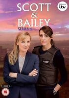 Nuevo - Scott & Bailey - Serie 4 [DVD] Temporada 4 Completo Jones Sharp 4th