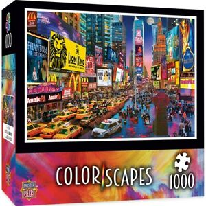 Colorscapes Show Time, Broadway 1000 piece jigsaw puzzle 680mm x 490mm (mpc)