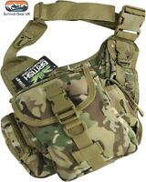 Kombat BTP Tactical Shoulder Bag 7 Litre compliments MTP / Multicam Airsoft