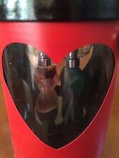 Jean Paul Gualtier duo minature perfume male/female in heart case