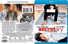 Secretary ~ New Blu-ray ~ James Spader, Maggie Gyllenhaal (2002)