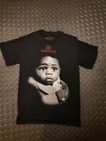 Live Nation Lil Wayne Carter III Hip Hop Men's Black Graphic Shirt SZ small 2010