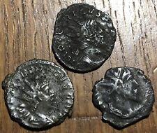 3 PIÈCES ROMAINES À IDENTIFIER , ROMAN COINS TO IDENTIFY (562)