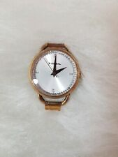 Fossil Ladies Round Gold Tone Quartz Watch ES-1275
