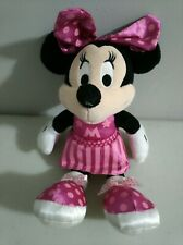 "Disney Minnie Mouse in Pink Dance Cheerleader Dress 8"" Stuffed Plush"