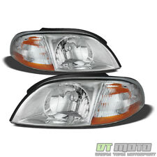 1999-2003 Ford Windstar Replacement Headlights Headlamps 99-03 Pair Left+Right (Fits: Ford Windstar)
