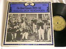 JACK TEAGARDEN Great Soloists 1929-1936 Ben Pollack Wingy Manone Trumbauer LP