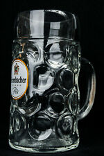 Krombacher Bier, Maßkrug, Bierkrug, Krug, Bierglas, Glas, Bier Seidel, 1 Liter