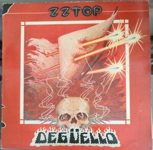 ZZ Top Deguello Vinyl LP