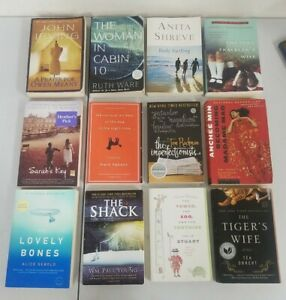 Lot of 12 Fiction National Bestseller/NYT Bestseller Books. PB. As displayed.
