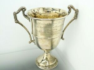 Rare 1929 Solid Sterling Trophy | Taunton 'Best Fat Steer or Ox in Show' 306gram