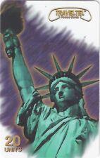 TK Telefonkarte/phonecard Traveltel 20u Statue Of Liberty