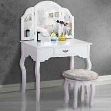 makeup vanity with lights and drawers. White Vanity Makeup Table Set Dressing Jewelry Desk With Drawer Vanities  Tables eBay