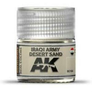 AK Interactive RC104 Real Colors Acrylic Lacquer Iraqi Army Desert Sand 10ml