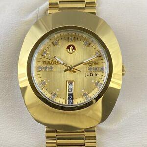 Rado Diastar Day Date Sealed Automatic Men's Excellent Wrist Watch GM326