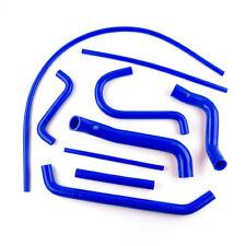 Fit FORD FALCON AU1 AU2 4.0L 6 CYL 1998-2002 Silicone Radiator Coolant Hose Blue