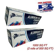 Aluminum Foil Roll 1000 Foot LIONZ Wrap Measuring 12