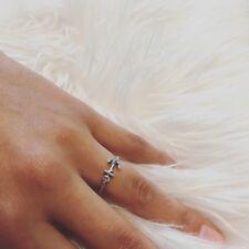 Damen Ring Anker 925 Sterling Silber Silberring Ankerring