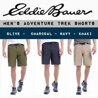 NEW Eddie Bauer Men's Adventure Trek Shorts - Belt Included