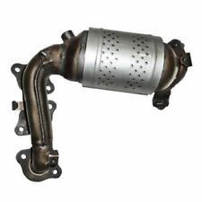 Exhaust Manifold with Integrated Catalytic Converter Front Left Cateran 33214