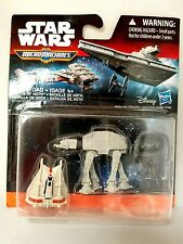 STAR WARS Battle of Hoth Micro Machines 3 pack 2015