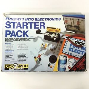 Dick Smith Funway 1 into Electronics Starter Pack K-2607 #404