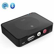 New Wireless Bluetooth V4.1 Receiver Audio Adapter with 3.5mm AUX,2 RCA Port,NFC
