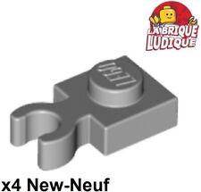 Brique Lot x6 Lego - 4211476-4070 gris grey Brick Headlight 1x1