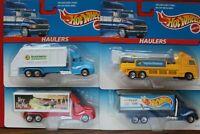 Vintage Hot Wheels - Lot Of 8 HW Haulers-(Mixed Brands) - 1996  NEW